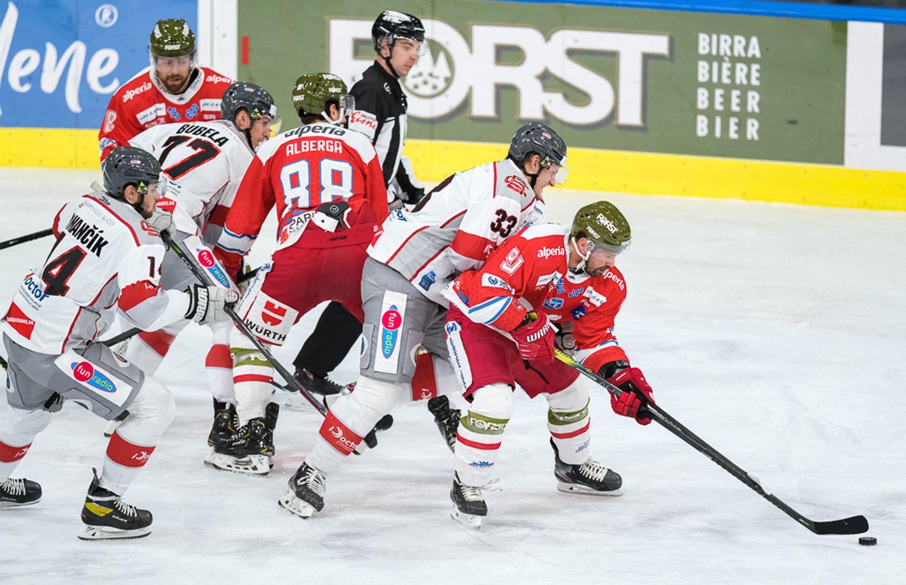 iClinic Bratislava Capitals sa vrátili z talianskeho Bolzana bez bodu