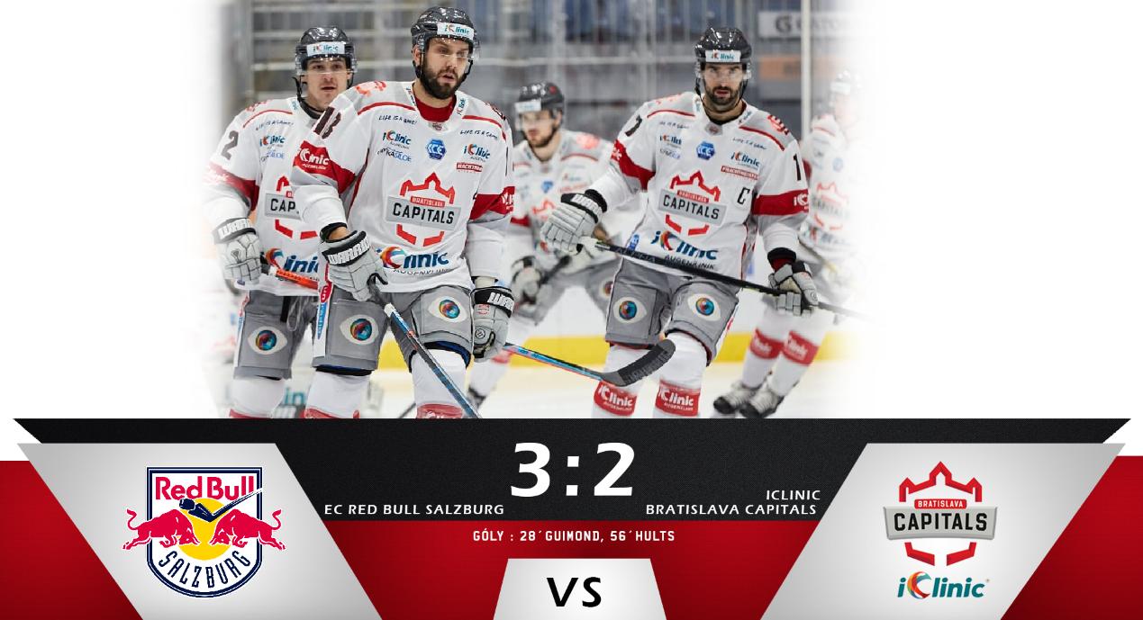 Tesná prehra u favorita v Salzburgu