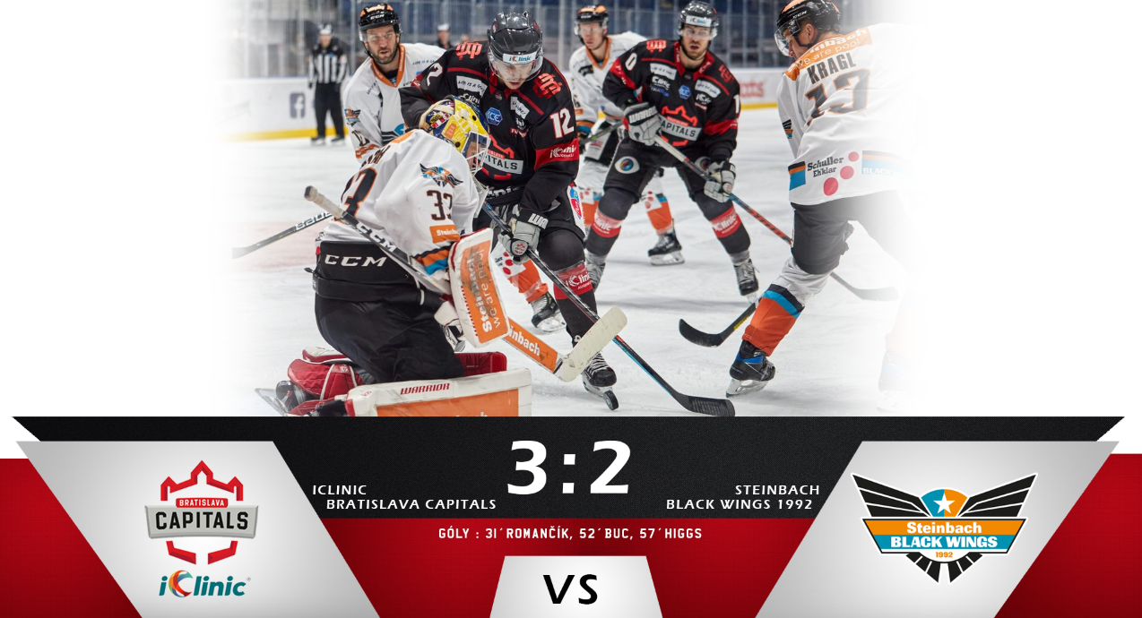 Capitals take the win in Linz!