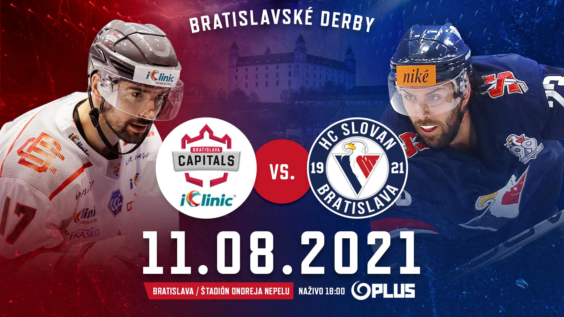 Bratislavské derby pre Capitals!