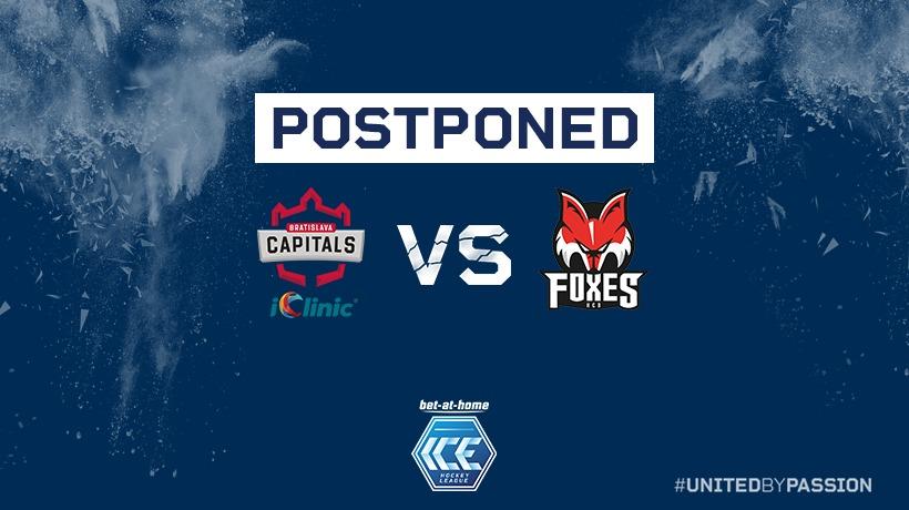 Postponed games